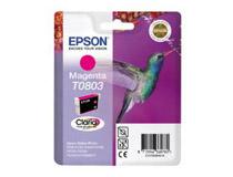 Bläckpatron Epson T0803 300 sidor magenta