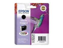 Bläckpatron Epson T0801 300 sidor svart
