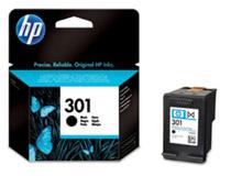 Bläckpatron HP Nr301 3ml svart