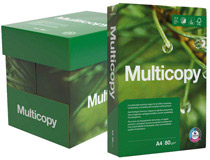 Kopieringspapper MultiCopy A4 HÅLAT 80g 5x500st/kartong
