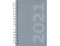 Dagbok Ottawa linnetextil blå 2021