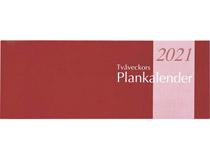 Plankalender stor Tvåveckors 2021