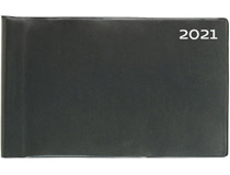 Veckokalendern plast svart 2021