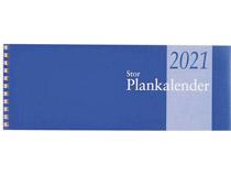 Plankalender stor spiralbunden 2021