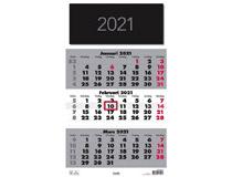 Väggkalender Triplaner Elegant 2021