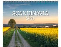 Väggkalender Scandinavia 2021