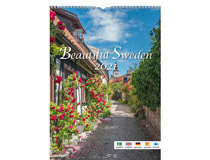 Väggkalender Beautiful Sweden 2021