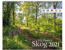 Väggkalender Vår vackra skog 2021