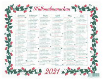 Lilla Hallonalmanackan 2021