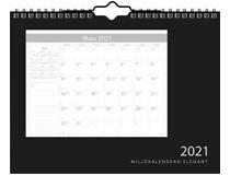Miljökalendern Elegant 2021