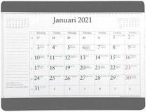 Musmatta med månadsblock 2021