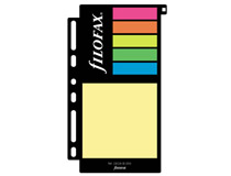 Filofax Personal/A5 stick-on-notes