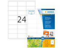 Etikett Herma Recycled 70x36 A4 2400st/fp