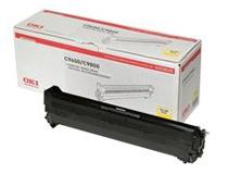 Toner OKI C9655 30k gul