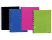 Kollegieblock Bantex PP A4 linjerat blå