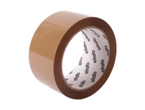 Packtejp Etab PVC 66mx50mm brun 6rl/fp