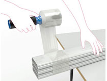 Sträckfilm mini 10cmx150m 0,020 transparent