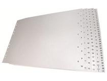 Register plast A3L 1-10 25st/fp