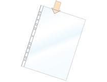 Plastficka A4 PP 0,08 präglad 100st/fp