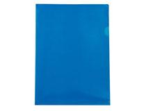 Mapp A4 PP 0,18 blå 100st/fp