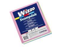 Svampduk Wizzo blandade färger 4st/fp