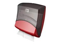 Dispenser Tork Top-Pak W4 Röd/Svart