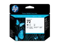 Skrivhuvud HP No 72 svart/grå