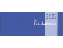 Plankalender stor limbunden 2021