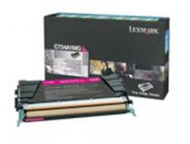 Toner Lexmark C734A1MG 6k magenta