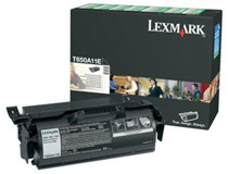 Toner Lexmark T650A11E 7k svart