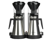 Kaffebryggare dubbel termos Moccamaster CDGT20 polished silver