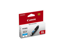 Bläck Canon CLI-551XL 660 sidor 11ml cyan