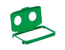 Durabin tunnlock 60l burkar grön