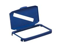 Durabin tunnlock 60l papper blå