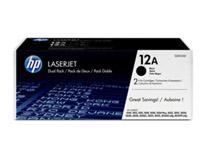 Toner HP Q2612AD 2x2k svart 2st/fp