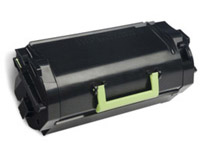 Toner Lexmark 52D2X00 45k svart