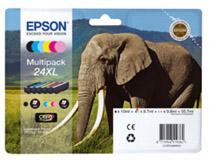 Bläckpatron Epson T2438XL 6st/fp