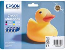Bläckpatron Epson T0556 290 sidor 4st/fp