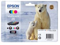 Bläckpatron Epson T2616 4st/fp