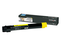 Toner Lexmark X950X2YG 24k gul