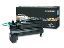 Toner Lexmark X792X1KG 20k svart