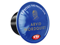 Kaffekapsel Arvid Nordquist OneCup espresso The Proud One 16st/fp