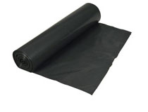 Sopsäck 125l 0,04mm svart 25st/rulle