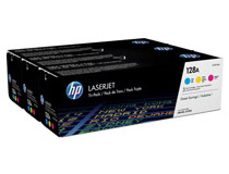 Toner HP 128A C/M/Y 3-pack