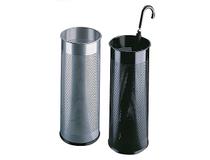 Paraplyställ metall silver