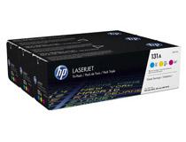 Toner HP 131A C/M/Y 3-pack