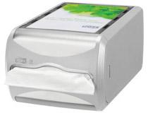 Tork Xpressnap Dispenser liggande ljusgrå N4