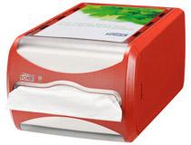 Tork Xpressnap Dispenser liggande röd N4
