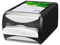 Tork Xpressnap Dispenser liggande svart N4