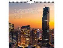 Väggkalender Skylines 2021